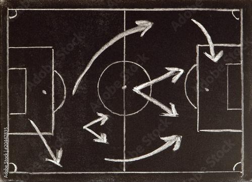 Fotografía  Fußball-Taktik