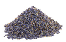 Pile Of Dried Lavender Flowers...