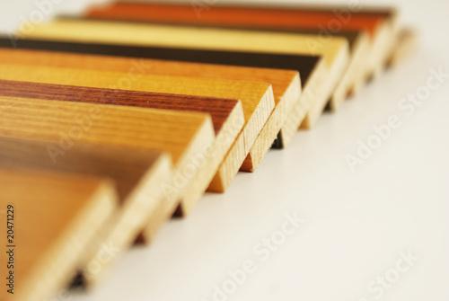 Obraz gamme de bois - fototapety do salonu