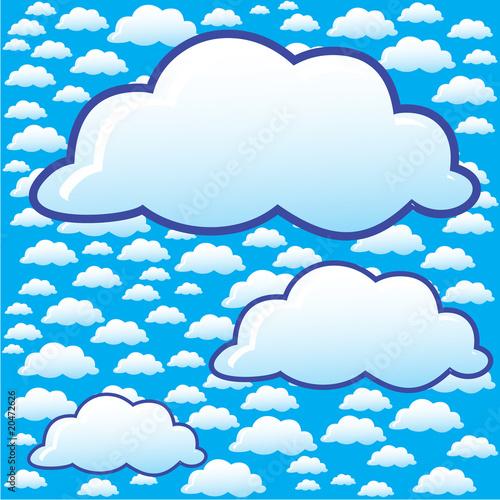 Papiers peints Ciel clouds background