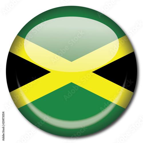 Chapa bandera Jamaica Canvas Print