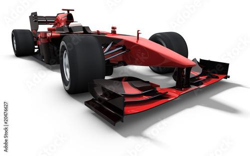 Foto-Lamellen (Lamellen ohne Schiene) - race car - red and black (von braverabbit)
