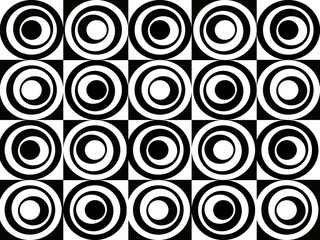 Panel Szklany Czarno-Biały popart