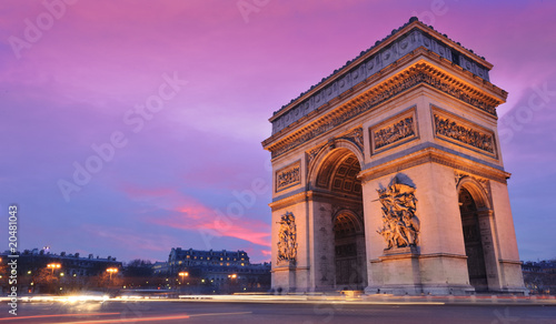 Valokuva  arc de triomphe
