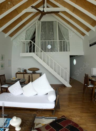 Fototapeta View of living room in a home obraz na płótnie