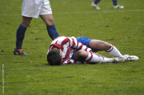 Photo Futbolista herido 23