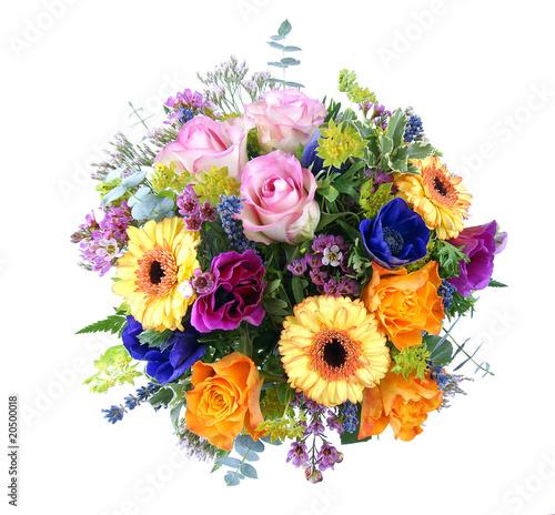 Blumenstrauß Fototapete