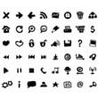 Vector web icons set sketch