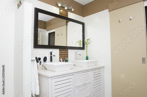 Leinwand Poster Salle de bain