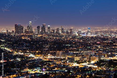 Keuken foto achterwand Los Angeles Downtown Los Angeles