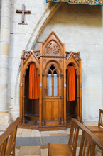 Confessional Box In Angers Cat...