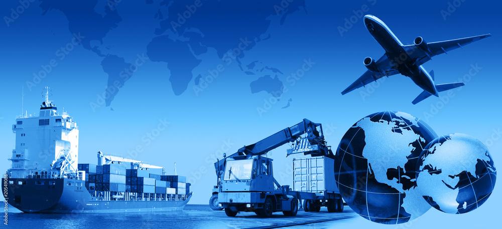 Fototapety, obrazy: Freight Business