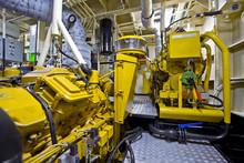 Tugboat Engine Room