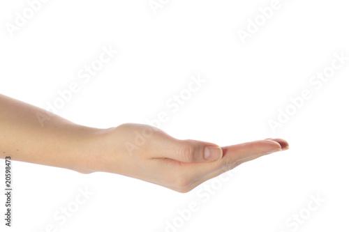 Valokuva  Menschliche Hand