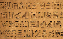 Hieroglyphics On A Wall