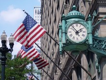 Marshall Field's Clock And Ame...