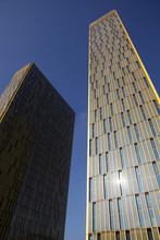 Court Of Justice Of The European Union, Luxembourg, Towers