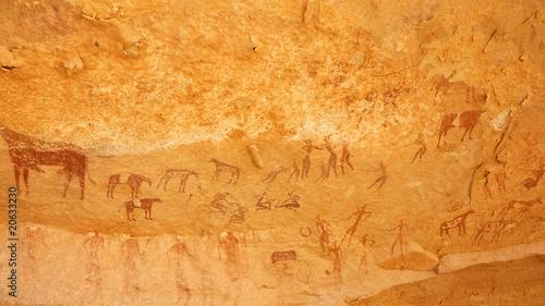 Cadres-photo bureau Algérie Peintures rupestres