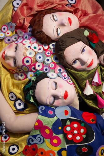 Fototapety, obrazy: Venice Carnival Masks_0038