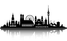 Munich Skyline - Top Details