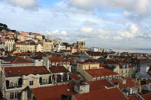 Photo  Alfama neighbourhood in Lisabon