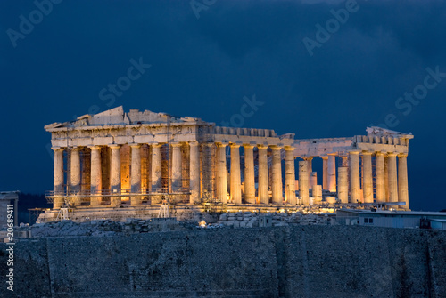 Photo Athens Acropolis Parthenon