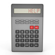 Scientific calculator calling for help - a 3d image