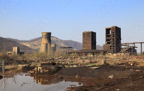 Papiers peints Les vieux bâtiments abandonnés Industrial ruins