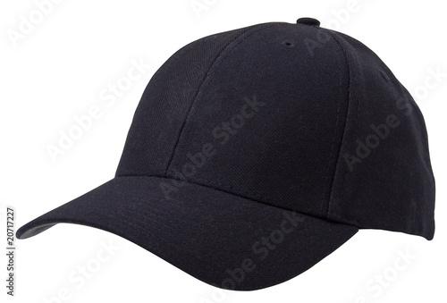 Valokuvatapetti Baseball cap with path
