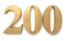 200 Wooden Celebration Anniversary Birthday