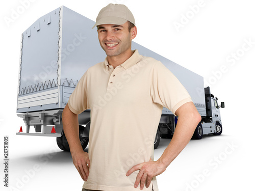 Fotografía  Truck driver