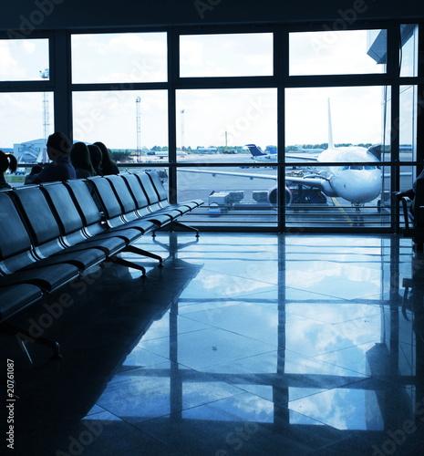 Foto op Aluminium Luchthaven In airport