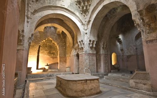 bey-hamam-skapanie-historyczny-budynek-przy-saloniki-miastem-w-grecja