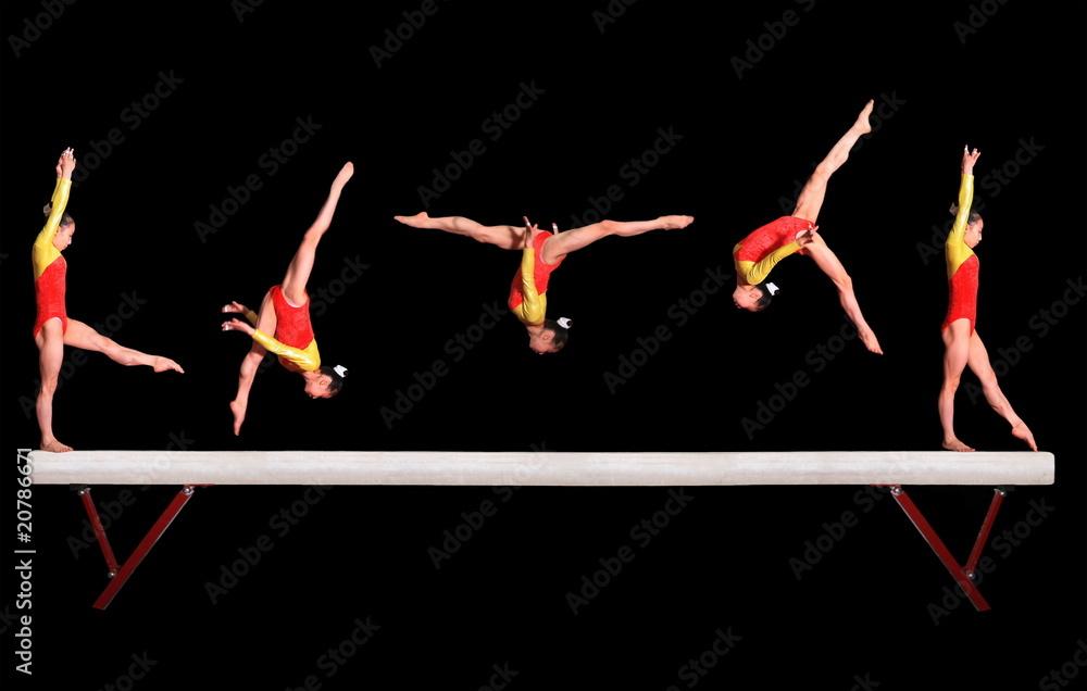 Photo  Balance beam