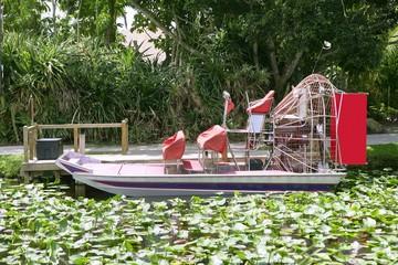 Zračni brod Everglades na južnoj Floridi, Nacionalni park