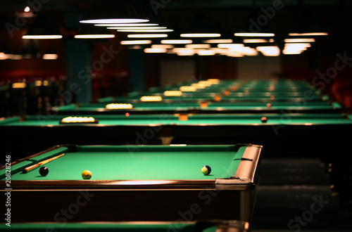 Fotografie, Tablou  Billiard room