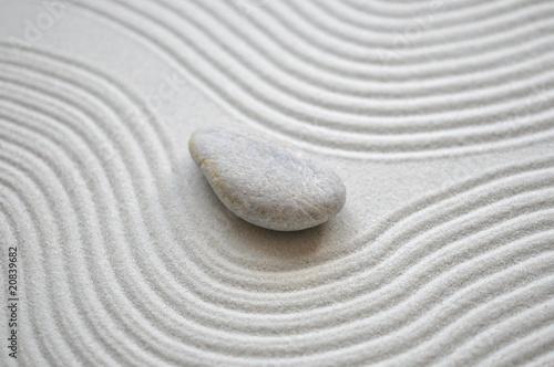 Fotobehang Stenen in het Zand Sand, Linien