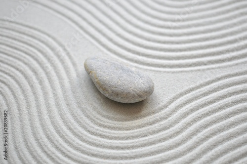 Foto op Plexiglas Stenen in het Zand Sand, Linien