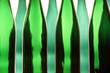 canvas print picture - Grüne Flaschen