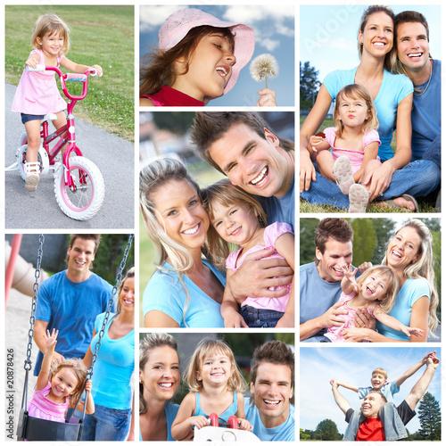 Happy family #20878426