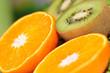 Kiwis und Orangen im Detail