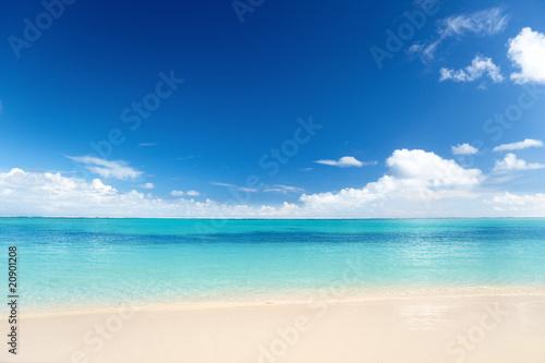 Recess Fitting Beach sand of beach caribbean sea