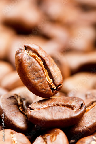 Wall Murals Cafe coffee beans.