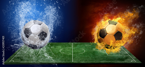 water-drops-and-fire-flames-around-soccer-ball-on-the-background