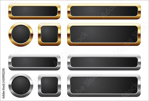 Fotografía  Metallic buttons