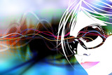 Club Girl Background