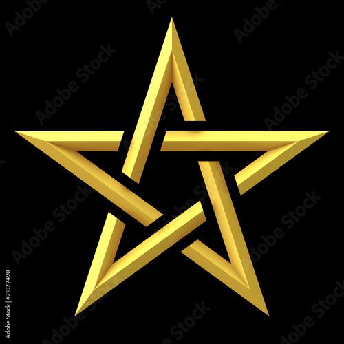 Photo  pentagram - sign