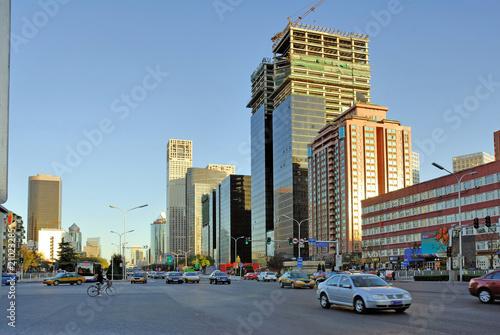 Foto auf Gartenposter Beijing China Beijing, street scene