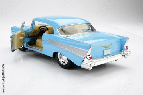 Poster Old cars Chevrolet BelAir