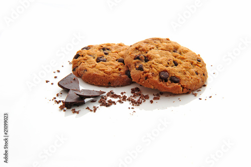 Photo  Cookies chocolat
